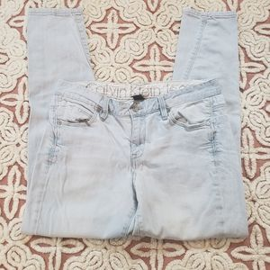 Calvin Klein 28/6 Slouchy Slim washed out jeans